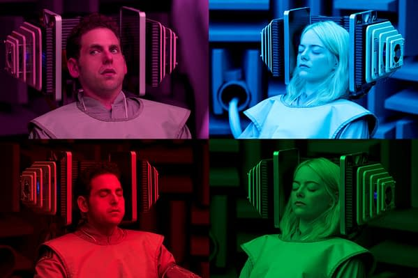 In Netflix's Official 'Maniac' Trailer, Jonah Hill and Emma Stone Just Can't Stop Finding Each Other
