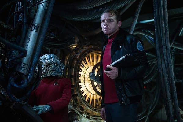 """Star Trek"": Simon Pegg Explains Lack of Progress on Fourth Film"