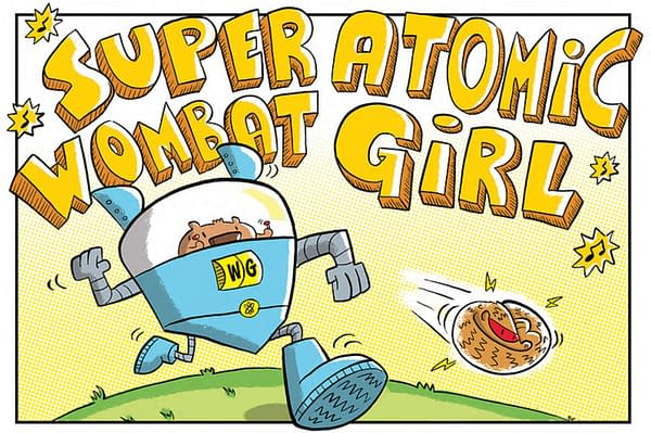 Super Atomic Wombat Girl Coming To Graphic Novels In 2022