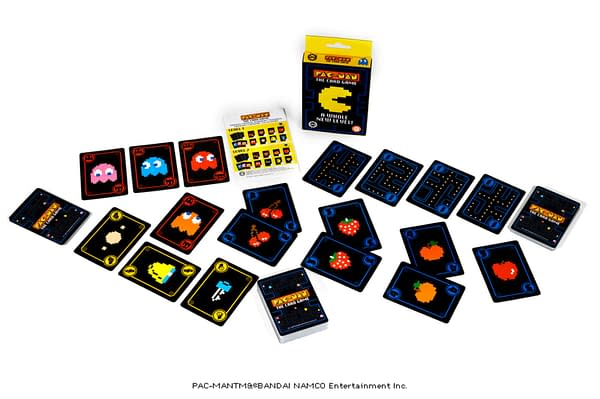 An array from Steamforged Games' new game, Pac-Man The Card Game.