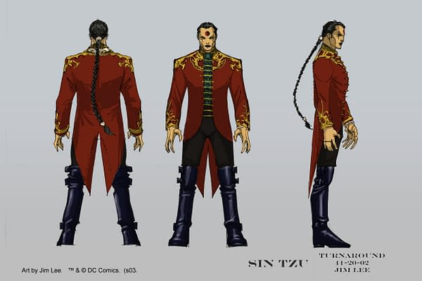 Sin Tzu Design by Jim Lee