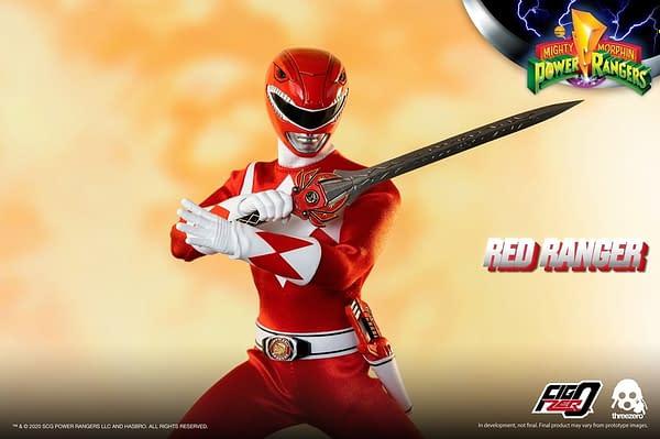 Red Ranger Morphs into Action with threezero's Power Rangers Reveal