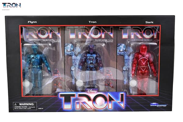Diamond Reveals Packaging for Tron and Cobra Kai SDCC Exclusives