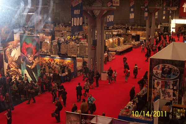 A View Of NYCC From The New York Anime Fest