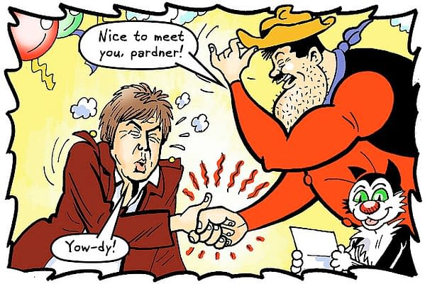 Paul McCartney Appears In The Final Issue Of The Dandy