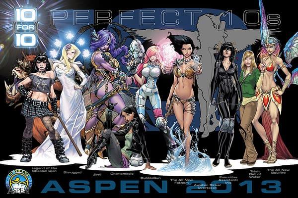 "Aspen Announces All ""10 For 10"" Titles For 2013"