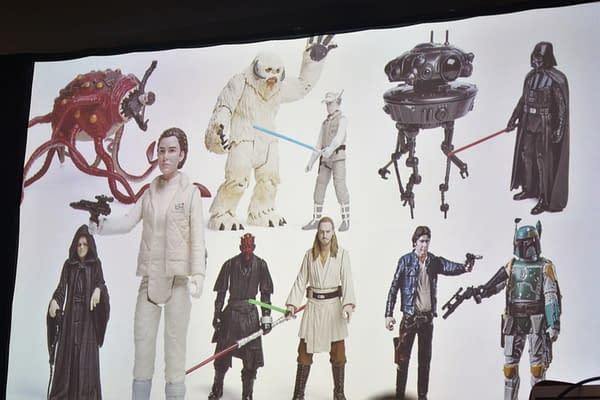 Hasbro Star Wars Toy Line Unveils Rey, Leia, Padme, And More Female Character Releases