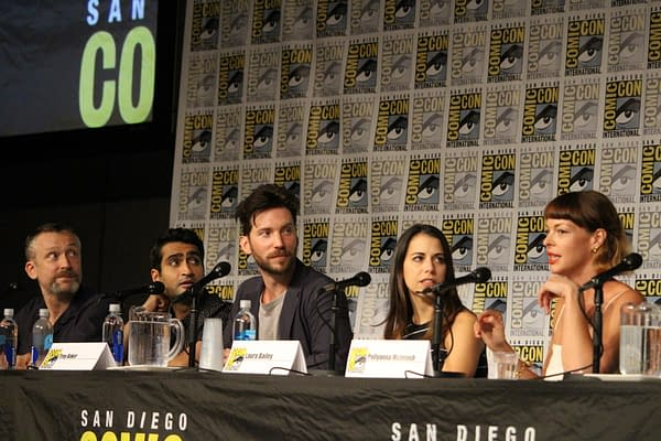 Middle Earth: Shadow of War Panel At SDCC With Troy Baker, Laura Bailey, And…Kumail Nanjiani?
