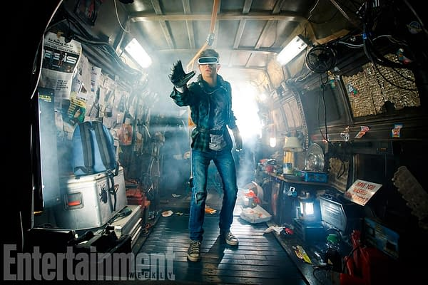 """First Official """"Ready Player One"""" Image Emerges"""
