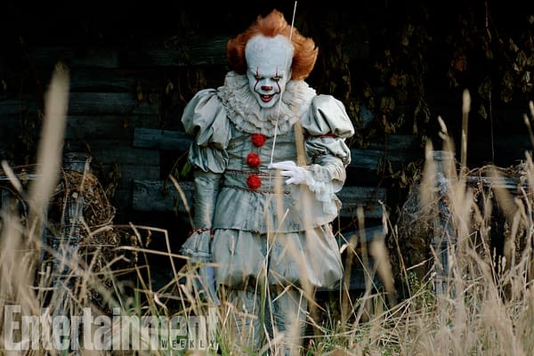 'It': Latest Images Of Pennywise And The Losers Club