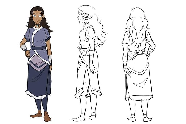 Faith Erin Hicks And Peter Wartman Are The New Creative Team On 'Avatar: The Last Airbender' Comics