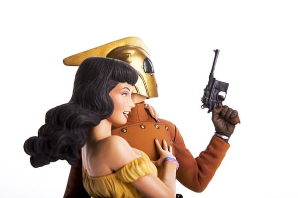 Rocketeer and Betty Statue From Mondo Blows All Others Away
