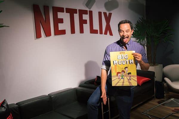Netflix Brings Nick Kroll's 'Big Mouth' to CCXP Brazil