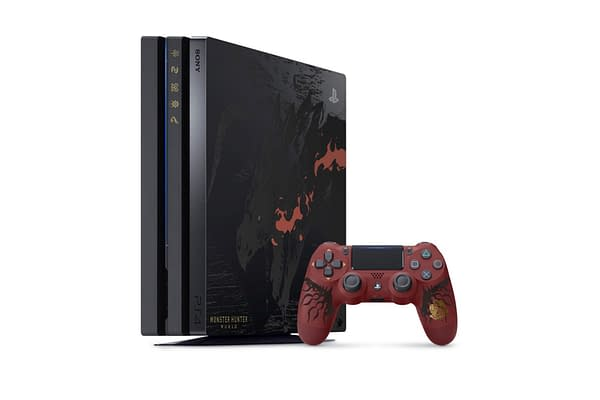 France Is Getting a Special Monster Hunter: World PS4 Pro