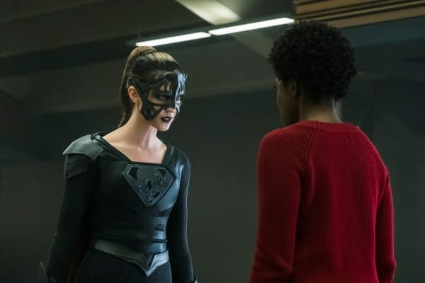 Supergirl Season 3: More Images of Krys Marshall as the Worldkiller Purity