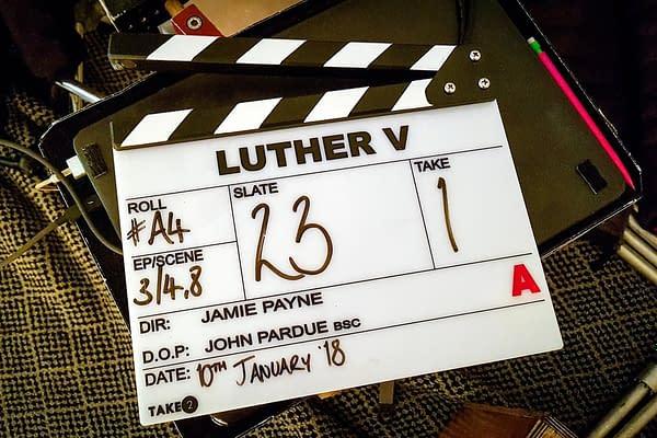 "Luther Season 5: Idris Elba Is ""Back in London, Back in the Coat"""