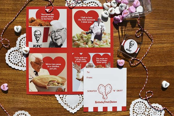 Nerd Food: KFC's The Colonel Vies for My Love this Valentine's Day