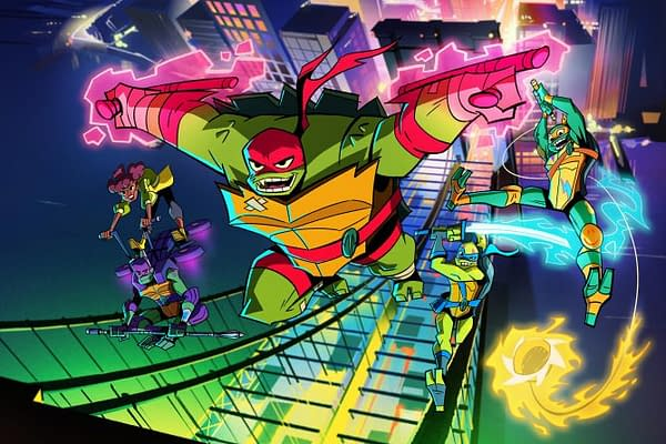 'Ninja Turtles' First Look Features First African-American April O'Neil