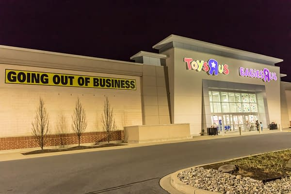I Don't Wanna Grow Up: The Last Gasp of Toys R Us, in Pictures