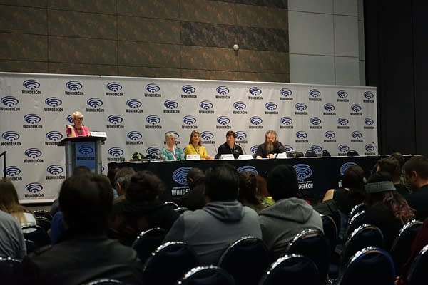 [#WonderCon] Gather 'Round the Campfire: Tellin' Tales with Patrick Rothfuss, R.A. Salvatore, Tina LeCount Myers, and Jenna Rhodes