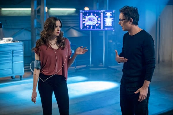 The Flash Season 3: Harry Tries to Help Caitlin, and Flash Goes North