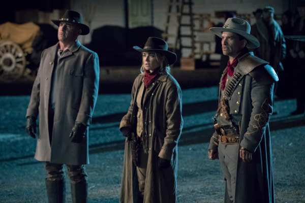 Legends of Tomorrow Cast Gets Jiggy in the Wild Wild West