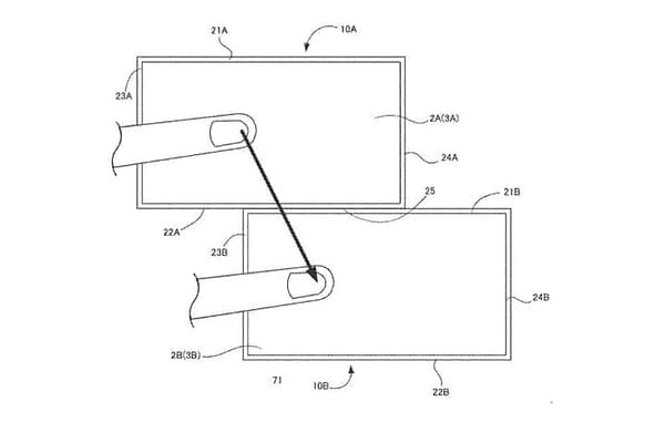 Nintendo Files a New Patent on Multi-Display Communication Console