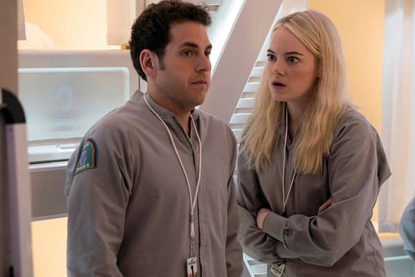 Maniac: Netflix Releases First Images from Jonah Hill, Emma Stone Mind-Bending Series