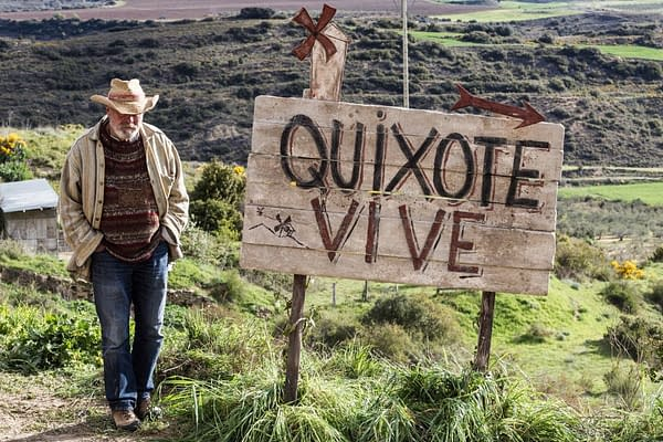 "At Long Last, Terry Gilliam Has Screened ""The Man Who Killed Don Quixote"""