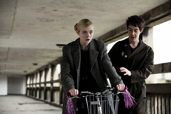 Elle Fanning and Alex Sharp How to Talk to Girls at Parties