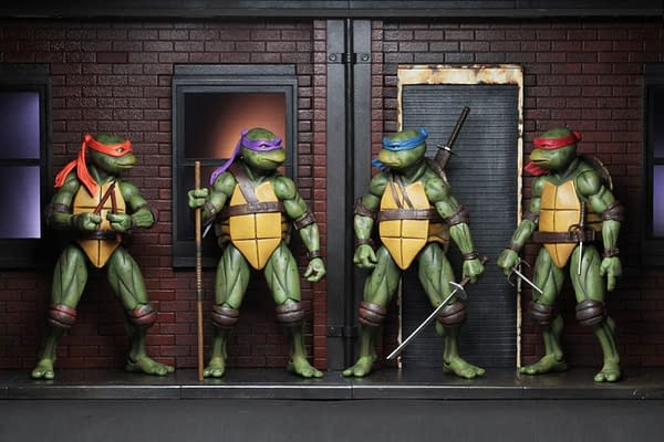 Sdcc 2018 NECA Exclusive TMNT 1990 Diorama 7
