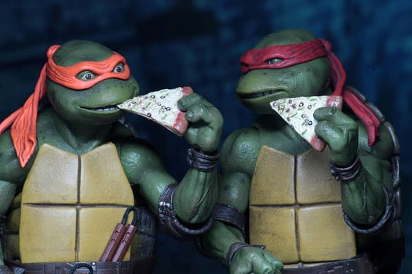 Sdcc 2018 NECA Exclusive TMNT 1990 Figure Set 10