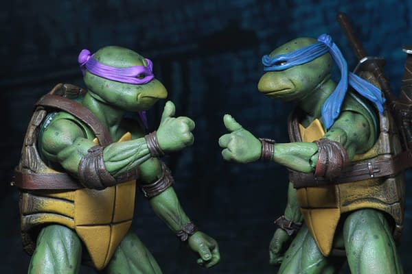 Sdcc 2018 NECA Exclusive TMNT 1990 Figure Set 13