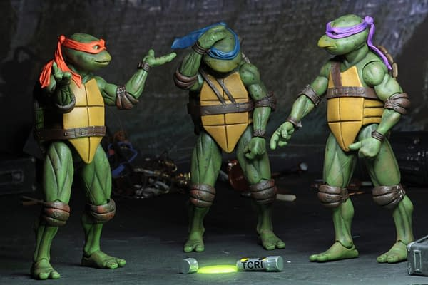 Sdcc 2018 NECA Exclusive TMNT 1990 Figure Set 14