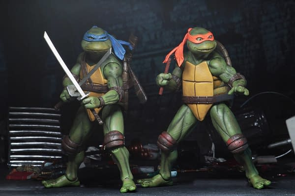 Sdcc 2018 NECA Exclusive TMNT 1990 Figure Set 6