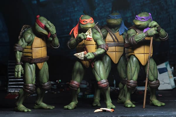 Sdcc 2018 NECA Exclusive TMNT 1990 Figure Set 8