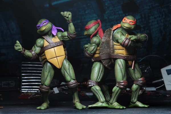 Sdcc 2018 NECA Exclusive TMNT 1990 Figure Set 9