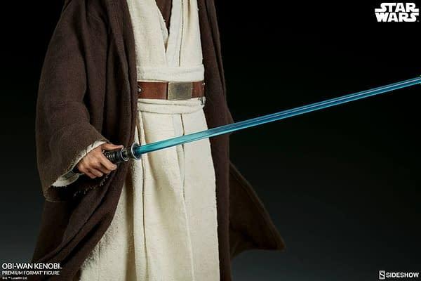 Sideshow Collectibles Star Wars Obi- Wan Kenobi Premium Format Figure 4