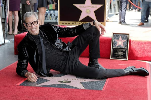 LOS ANGELES - JUN 14 2018: Jeff Goldblum