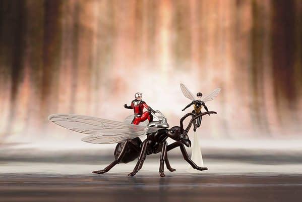 Ant Man and Wasp Kotobukiya Statue 7