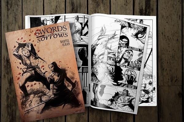 Ninja Assassins, Katana Fights, and Deep Personal Regret – Swords & Sorrows Comic Launches on Kickstarter