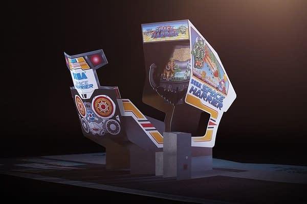 There's a Kickstarter Funding a SEGA Arcade Pop-Up Book