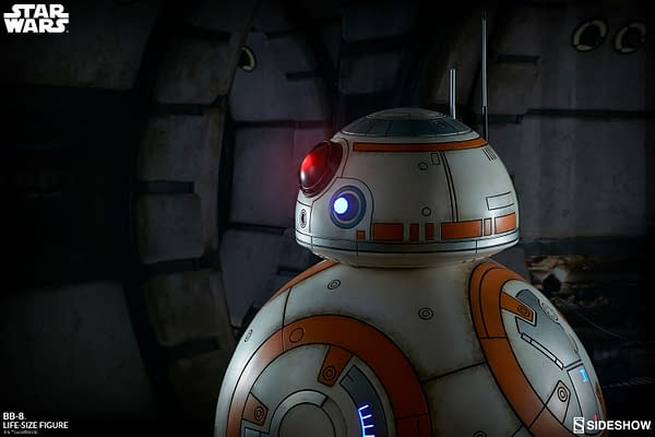 Sideshow Collectibles Star Wars Life Size BB-8 2