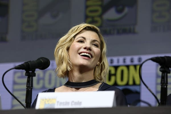 Doctor Who's Jodie Whittaker Really is THAT Incandescent in Person