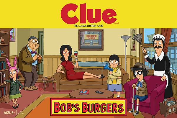 Bob's Burgers CLUE (USAopoly)