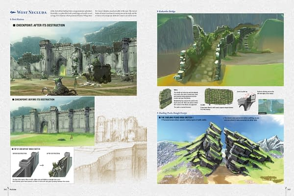 Dark Horse Comics Reveals Images from New Breath of the Wild Book