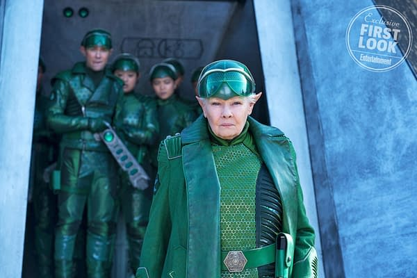 Dame Judi Dench Commands an Army in this New Image from Disney's Artemis Fowl