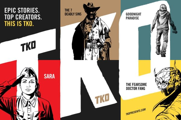 New Comic Publisher TKO Launches With Big Name Creators and Revolutionary Ambitions