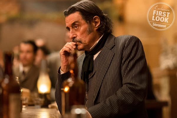 Ain't They A Pair: Images of Bullock, Swearengen from 'Deadwood' Movie