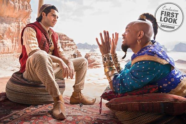 Will Smith, Guy Ritchie Talk Genie from 'Aladdin'